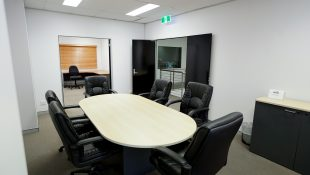 Meeting room at Tasty Studios, a custom built film studio
