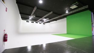 Main studio at Tasty Pictures custom built film studio